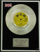 "BARRY RYAN - 7"" Platinum Disc - ELOISE"